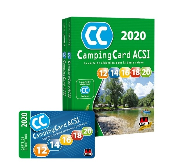 guide camping card acsi 2018